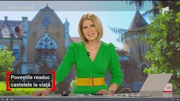 Antena 1: Poveștile readuc castelele la viață