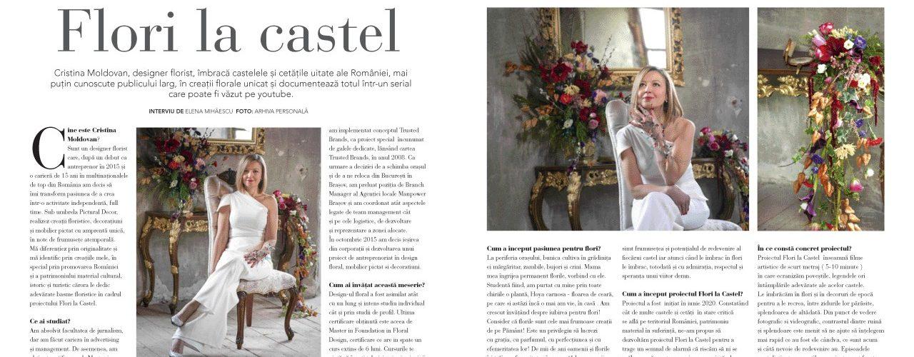 Revista Casa Lux: Flori la castel